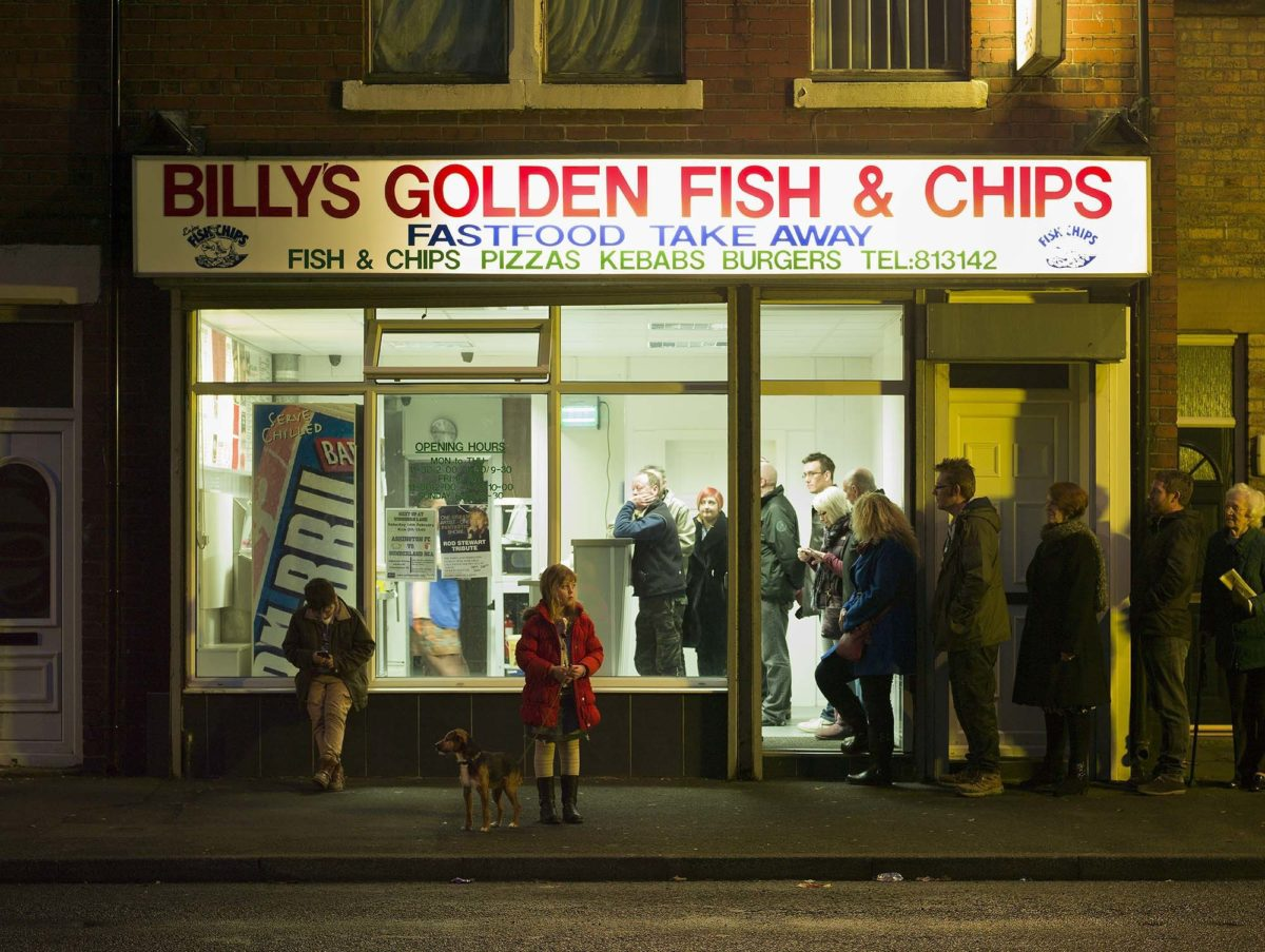 Fish and Chips by Julian Germain, 2015. Photograph © Ashington District Star / Julian Germain.