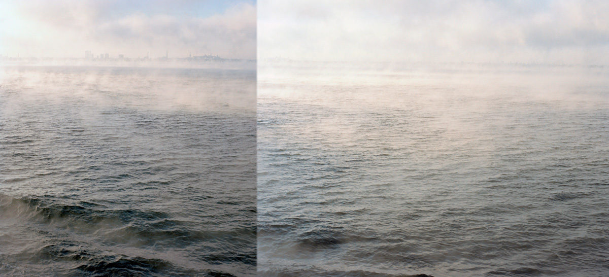 A Shore In A Mist 60X130