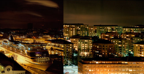 Night In Stockholm 60X116
