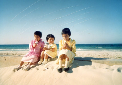 Noor Al Ain Waheed Maryam Waheed And Amara Waheed Libya Early 1987